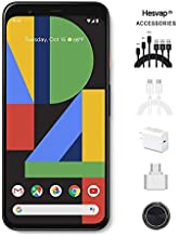$799 » Google - Pixel 4 XL Unlocked Android Smartphone 64GB Memory Cell Phone Unlimited Cloud Storage (White) AT&T/T-Mobile/Verizon W/ 69.99 Hesvap 7 in 1 Accessories Bundle