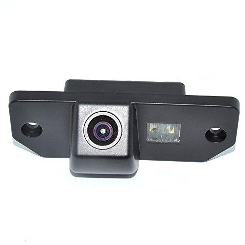 Kalakass Portatarga Videocamera HD per Impermeabile retrovisore Telecamera da Retromarcia per Mondeo Focus C-Max Focus Sedan(3 Carriage) Focus (2 Carriage)