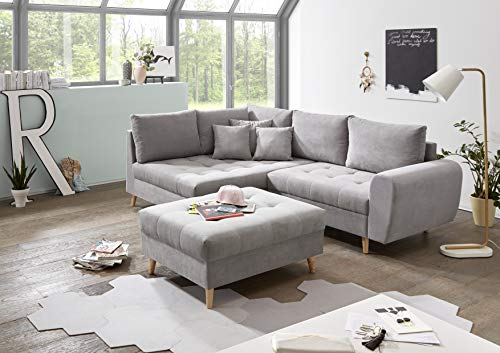 Ecksofa Couch –  günstig Skandi Stella Trading Alice Bild 4*