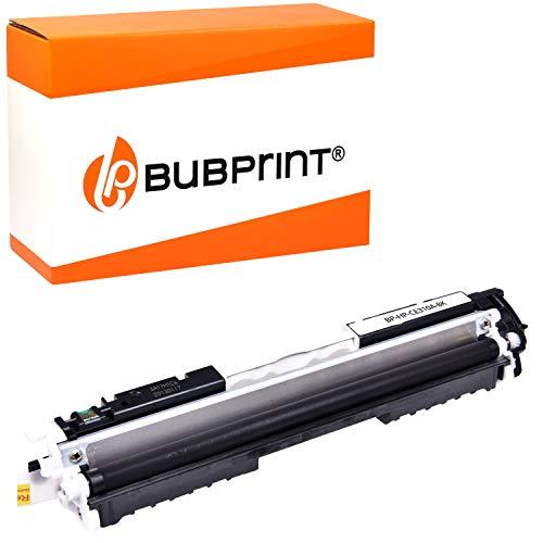 Bubprint Toner kompatibel für HP 126A CE310A für Color Laserjet Pro CP1025 CP1025NW CP1026NW CP1020 100 Color MFP M175nw M175a M175 M275 M275nw Schwarz
