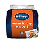 Silentnight Warm and Cosy 13.5 Tog, White, King (Packaging May Vary)