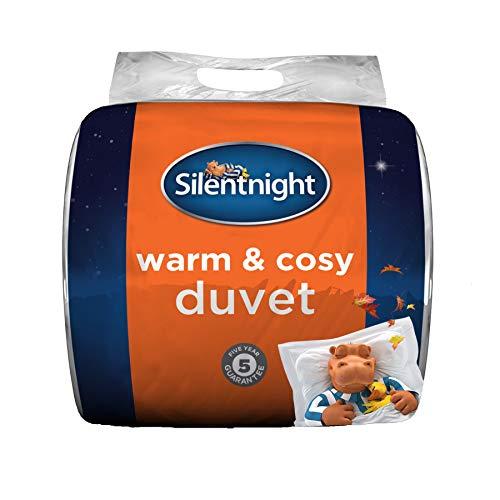 Silentnight Varmt och mysigt täcke – 15 tillsammans – enkelsäng 135 x 200 cm
