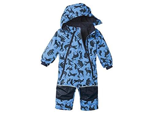 lupilu Baby Kleinkinder Jungen Winteroverall Blau 62/68