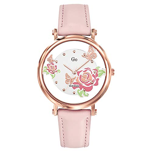GO Girl Only Reloj Analógico para Mujer de Cuarzo con Correa en Cuero 699104