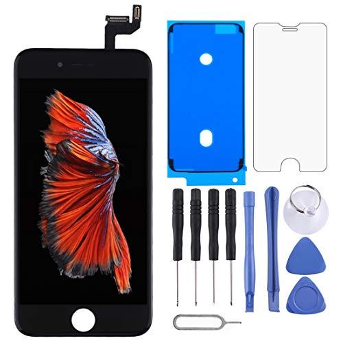 Pantalla LCD original y digitalizador de montaje completo para iPhone 6 Plus (negro)