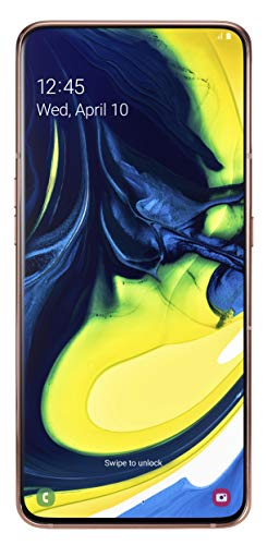 "Samsung Galaxy A80-17 cm (6.7"") 8 GB 128 GB SIM Doble 4G Oro 3700 mAh - Smartphone (17 cm (6.7""), 8 GB, 128 GB, 48 MP, Android 9.0, Oro)"
