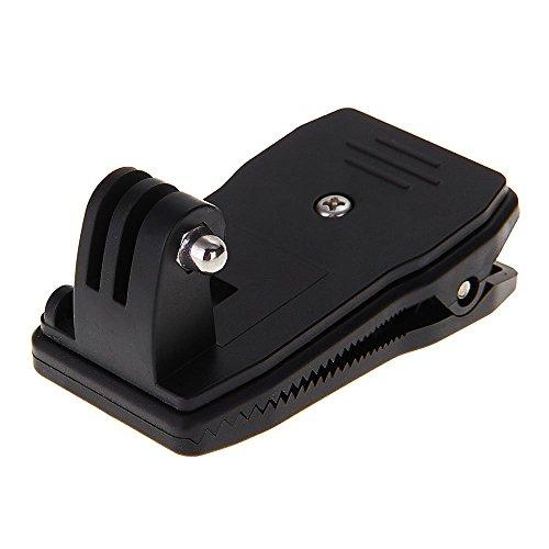 TOOGOO(R) sac a dos avec kit clip de 360 angle de rotation a deverrouillage rapide pour GoPro Hero 2 3 3 +/ST-157