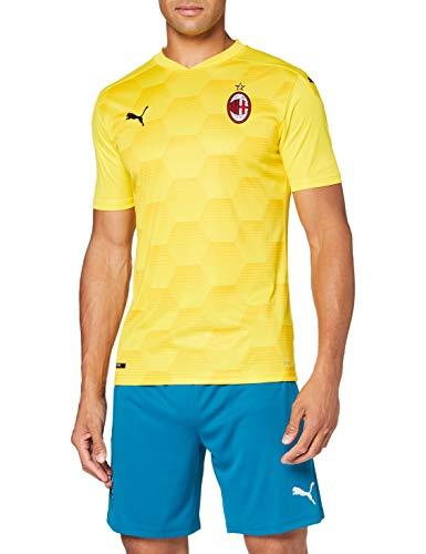 PUMA Acm Gk Shirt Replica Camiseta De Portero, Hombre, cyber yellow, XL