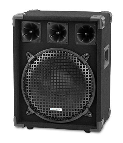 "McGrey DJ-1222 DJ PA Lautsprecher Box 30cm (12"") Subwoofer 600W (Passiv, 2-Wege System, Holzgehäuse)"