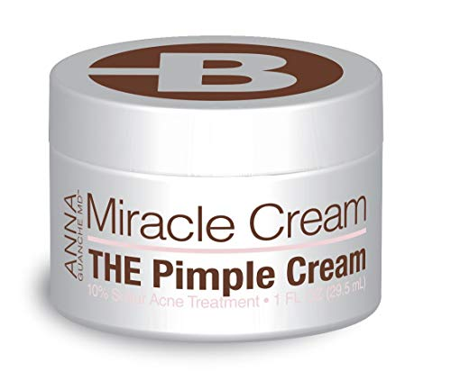 Anna Guanche MD Miracle Cream - Acne Treatment that Quickly Reduces Pimples & Redness