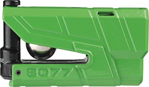 Abus 8077_Verde Antirrobo Disco Moto con Alarma
