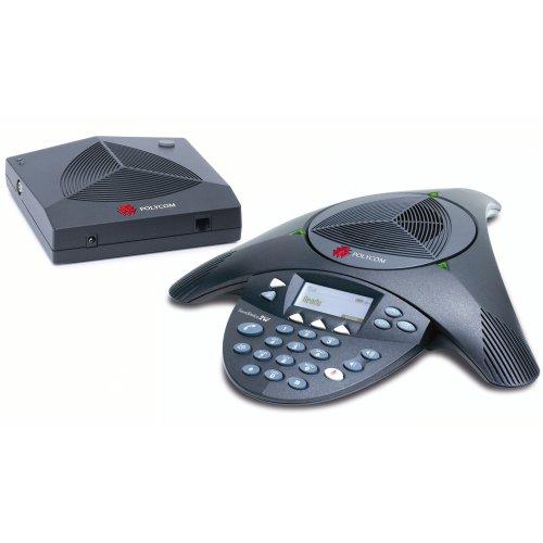 POLYCOM Soundstation 2W ex (erweiterbar) Konferenztelefon (französischer Stecker)