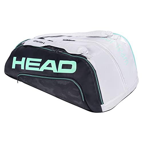 Head Bolsa de Tenis para Mujer, para Tenis, Tenis, Tenis, Wilson Angie Kerber, Bolso de Tenis, Tour Team 12R Monstercombi 12R, Color Azul Marino y Blanco