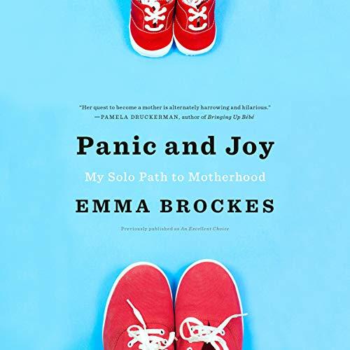 Panic and Joy audiobook cover art
