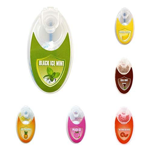 Perfect-Premium Mentol Capsules 500 Delige Set | DIY mentolfilter voor onvergetelijke smaak | incl. Box voor het bewaren Van aromatic Click hulzen Balls