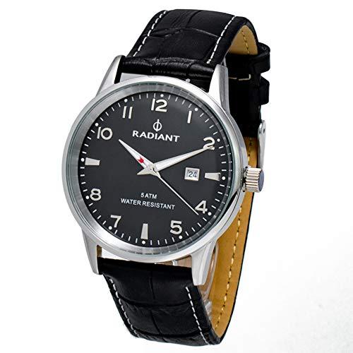 Radiant Reloj Analógico para Hombre de Cuarzo con Correa en Cuero RA434601