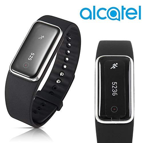 Alcatel MB20G Moveband Fitness-Tracker, Schlafüberwachung, Smartwatch, Schwarz
