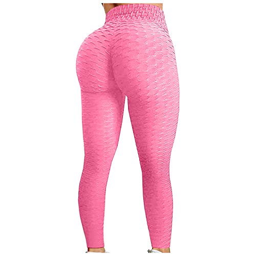 Women s High Waist Yoga Pants Tummy Control Slimming Booty Leggings Workout Running Butt Lift Tights for Running,Fitness Gym
