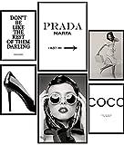 Urhome Poster Set Coco A4 Bilder für Schlafzimmer