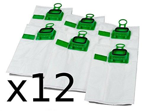 Vorratspackung 2x6 Staubsaugerbeutel Premium geeignet für Vorwerk Kobold VK 140 und VK 150