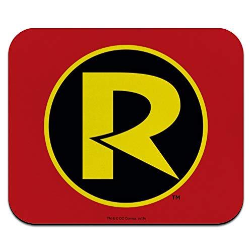 Batman Robin Logo Low Profile Thin Mouse Pad Mousepad