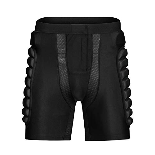 Riding Armor Pants Skating Protective Armour Skiing Snowboards Mountain Bike Cycling Cycle Shorts Black