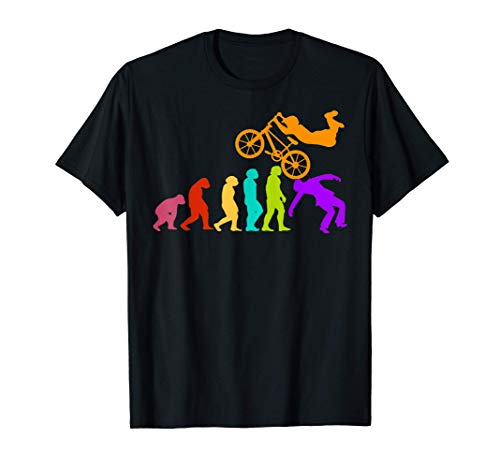 BMX Vélo cycliste BMX Bicyclette cyclisme Évolution race BMX T-Shirt