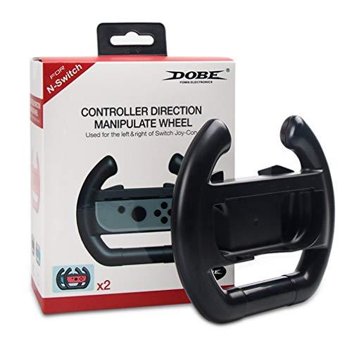 MoKo Nintendo Switch volante, [2 unidades] Manipulação de jogo de corrida para controle de controle de controle de joy-con Nintendo Switch