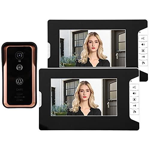 Video Doorbell Videoportero Intercom Timbre De Video De Video con Cable De...