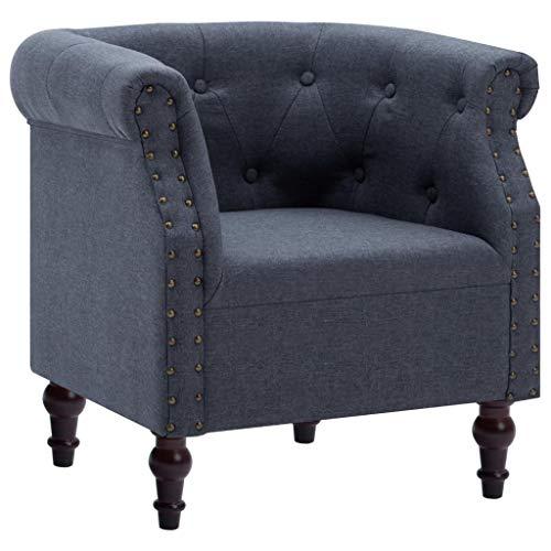 tidyard Tidyard Tumbona, relaja la silla con botones Decoración de uñas para el dormitorio, sala de estar o sala de estar, sofisticado lujo S