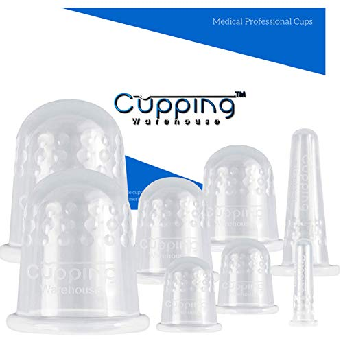 Cupping Warehouse Grip Classic PRO 6570- Cupping Therapy Sets Anti Cellulite Massager for Professional and Self Care Use. Skin Tightening, Firming, Toning, Fascia Muscles and Scar Tissue Softening (8)