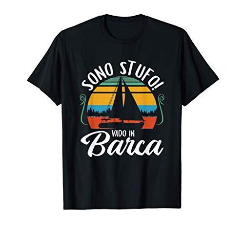 Maglietta Capitani di navi Uomini Nautica barca vela Regali Maglietta