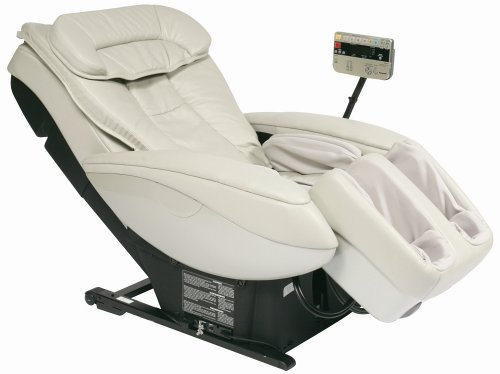 Panasonic EP3222CU Real Pro Elite Massage Chair with Body Scan Technology and Memory, Gray