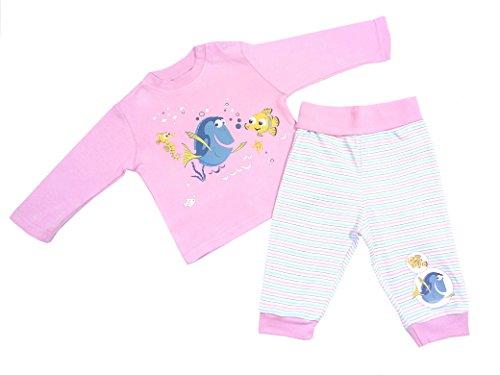 Original Disney: Baby Langarm 2-Teiler Shirt + Hose