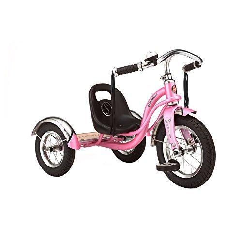 Schwinn 12' Red Roadster Trike Pink