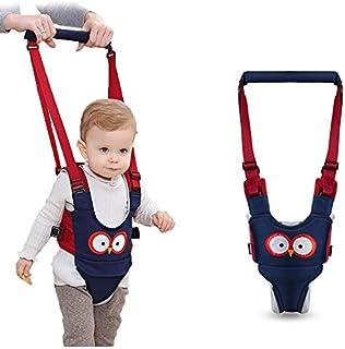 Baby Walking Harness - Handheld Kids Walker Helper - Toddler Infant Walker Harness Assistant Belt - Help Baby Walk - Child Learning Walk Support Assist Trainer Tool - for 7-24 Month Old (Blue)