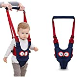 Baby Walking Harness - Handheld Kids Walker Helper - Toddler Infant Walker Harness Assistant Belt - Help Baby Walk - Child Learning Walk Support Assist Trainer Tool - for 7-24 Month Old (Blue) (Blue)