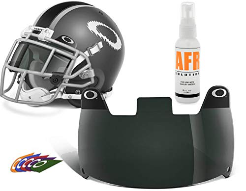 Oakley 20% Grey Football Eye Shield and Anti-Fog Cleaning Solution