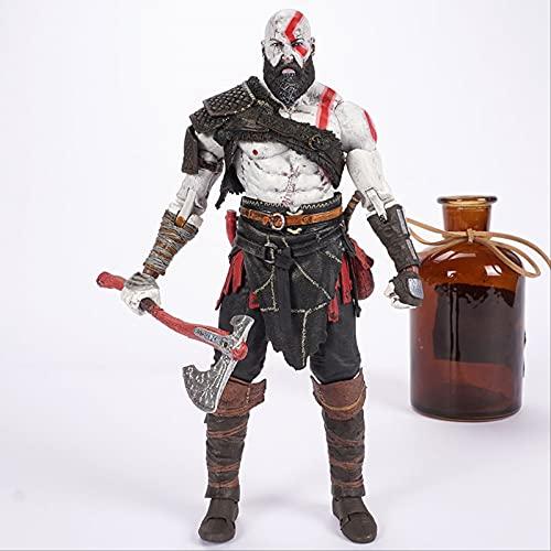 Juego Clásico Ps4 God of War Kratos Figura De Acción De Colección Modelo Juguetes Muñeca Regalo
