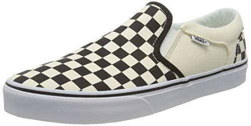 Vans Asher Sneaker, Zapatillas Hombre, Blanco (CheckersWhite IPD), 44.5 EU