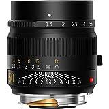 TTArtisan M50mm F1.4 Lente de cámara de alta resolución Lente de gran apertura MF enfoque manual compatible con Leica M Monte Leica M240, Leica M3, Leica M6, Leica M7, Leica M8, Leica M9, M9p, M10