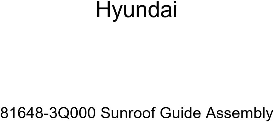 Hyundai wholesale 81648-3Q000 Sunroof Indianapolis Mall Assembly Guide