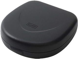 Lwieui Caja de Almacenamiento de CD CD portátil de Almacenamiento de CD Bandeja de la Caja posee el 24 CD for el Coche Ini...