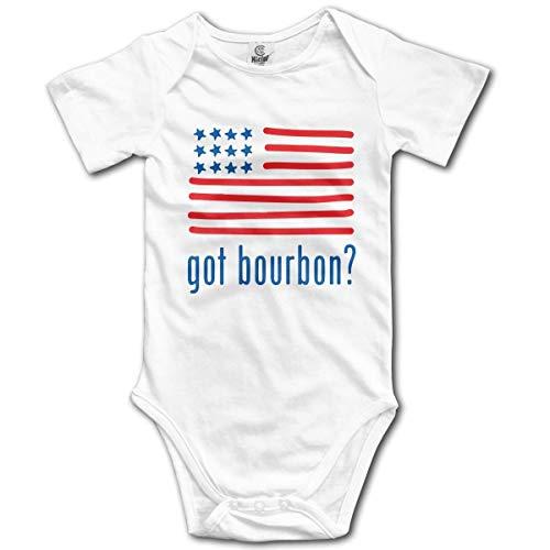 huatongxin Got Bourbon Baby Rompers Short Sleeve Infant Cotton Bodysuits Jumpsuit