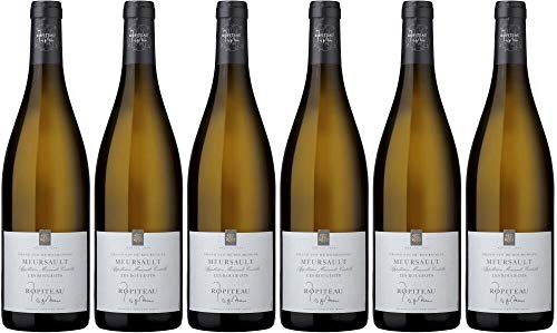 6x Meursault Les Rougeots 2016 - Weingut Ropiteau Frères, Bourgogne - Weißwein