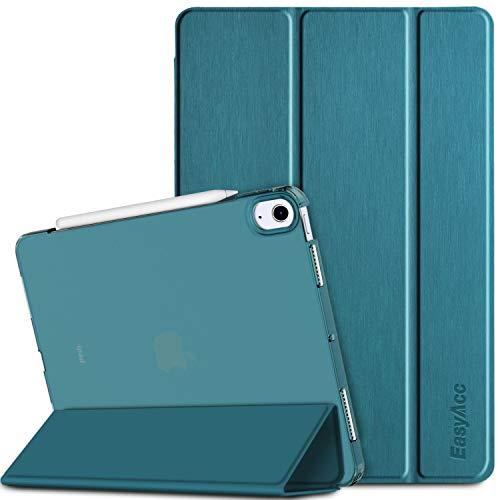 EasyAcc - Funda Compatible con iPad Air 10.9 2020(4. Generation), Estuche PU Ultra Delgado Premium con Función de Apagado Automático Compatible con iPad Air 4. Generation 10.9 2020 [Azul Marino]