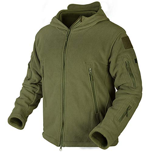 Military Hoodies for Men Army Jackets Men Military Style Jacket Fleece Outerwear Windproof Performance Coat