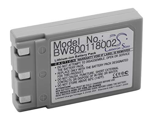 vhbw Li-Ion Akku 850mAh (3.7V) passend für Kamera Digicam DSLR Konica Revio KD-310, KD-310Z, KD-400Z, KD-410Z, KD-420Z, KD-500Z, KD-510Z
