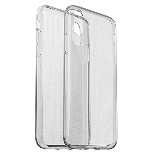 OtterBox clearly Protected Skin, Extra Slim Silikon Schutzhülle, geeignet für iPhone X/Xs, transparent