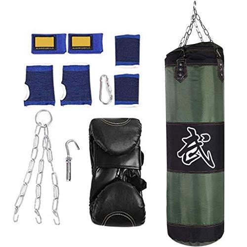 XHLLX Boxeo sin Relleno Sand Bols Bag, Boxing Hook Fight Fight Fight Fight Fitness Training Material Bag